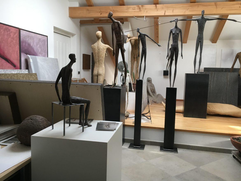 Im Atelier von Gerald Moroder